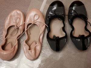 Ballet and Jazz shoes Sizes 30-31.