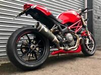 Ducati Monster 1100 EVO abs px swap