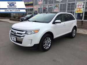 2014 Ford Edge Limited  - Certified - $204.23 B/W