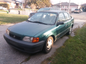 toyota tercel green | buy or sell new, used and salvaged cars