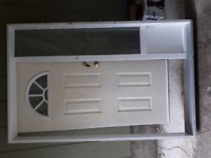 36in door with sidelight