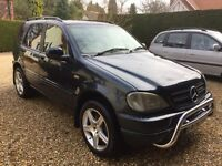 Mercedes ML430 automatic 7 seater