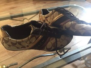 Coach sneakers 8.5