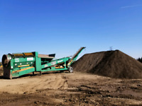 Topsoil Screener -- FOR RENT