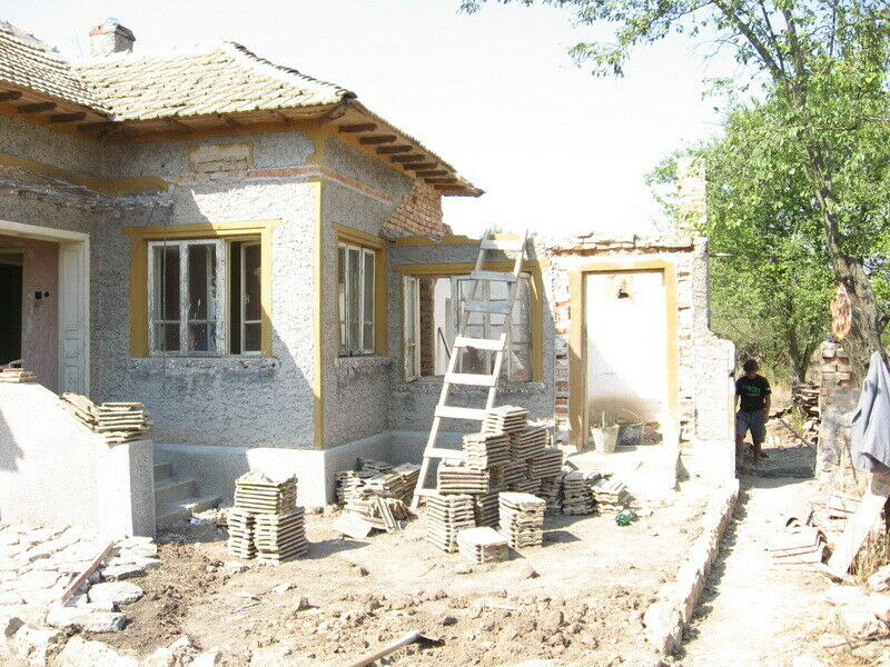 Bulgaria Bulgarian UNFINISHED Project 2 Bedroom house 16 Km to Sea