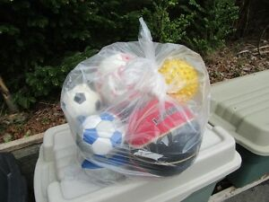 BAG OF BALLS - BASKETBALL, SOCCER, ETC.