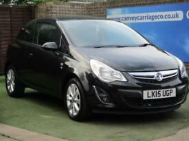 2015 Vauxhall Corsa 1.4 i VVT 16v Excite 3dr (a/c)