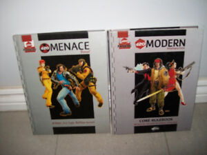 D20 Modern roleplaying game & Menace manual RPG by Wizards