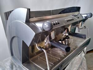 2 Group Gaggia Espresso Machine and Coffee Grinder