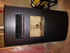 Year old pellet stove