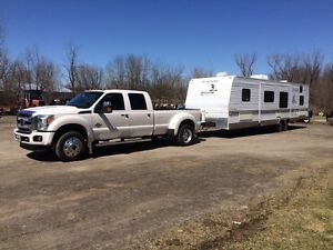 Transport roulotte,Fifth wheel,remorque