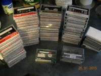 103 Cassette Tapes... Blank and Artists .. Great condition