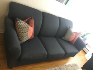 3 seat sofa + 2 seat sofa second hand well maintained