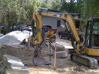 Excavation Waterproofing Landscaping and Retaining Walls