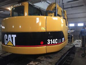 314 CAT LCR Excavator