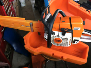 Stihl Chainsaw - MS341 with case