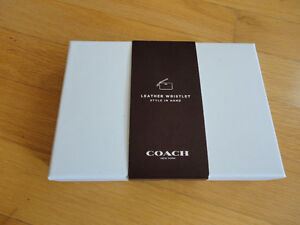 Coach Limited edition black leather wristet Brand new in box London Ontario image 2