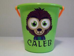 Custom Halloween Trick or Treat Buckets