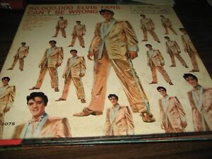 Reduced price ELVIS LP 50,000,000 FANS CAN'T BE WRONG