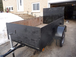 8 x 4 ft Utility trailer  Very solid frame !