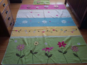 Floral Twin Quilt and sham Kitchener / Waterloo Kitchener Area image 1