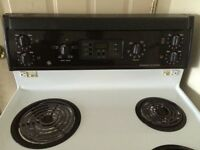 GE stove and range hood - reduced price!