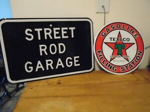 GARAGE TIN SIGNS