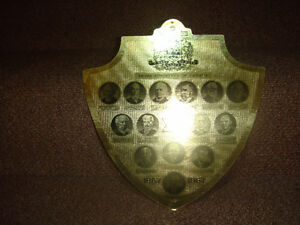 Prime Ministers of Canada 1867 to 1967 Shield
