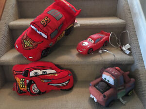 Cars and Spider-Man Lights and Pillows