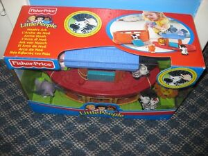 NEW fisher price little people noahs ark