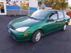 2002 ford focus only 104 k good body auto certified etested