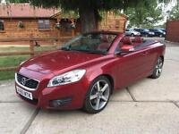 NEW SHAPE 2010 VOLVO C70 2.0D SE LUX CONVERTBILE TURBO DIESEL - 1 OWNER FROM NEW