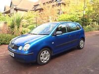VW POLO 1.4 SE 5 DOOR HATCH..1 YEARS MOT.. EXCELLENT CONDITION DRIVES PERFECT .HISTORY..