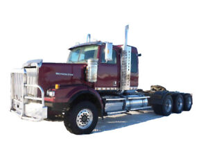2014 WESTERN STAR 4900SA TRI DRIVE. WET KIT Cash/ trade/ lease t