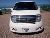 Nissan Elgrand 3.5 Highway Star 8 Seats - Captains seats, 2 Keys - 1/2 Leather