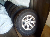 New Toyo Open Country A/T II Tires on Nissan Alloy Wheels