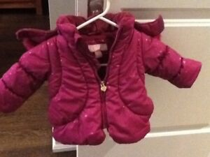 infant and toddler winter jacket and snowsuits size 6 mos-24mos