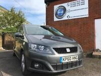 Seat Alhambra 2.0TDI AUTOMATIC/DSG 2011 -- 7 SEATS -- FULL SERVICE -- NEW SHAPE