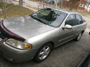 2003 nissan sentra gxe manual (as is)