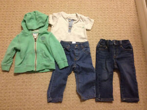 12 Month Boy Fall/Winter Brand Name Clothes London Ontario image 8