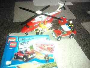 Lego Helicopter 7206