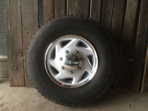 Set of 235 85R16 Tires & 8 Bolt Wheels