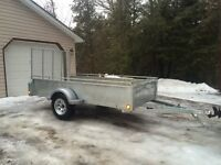NEW 2016 Canadian Made Galvanized Trailers