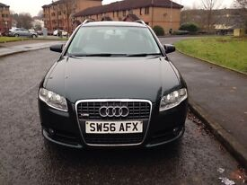 AUDI A4 S LINE TDI ESTATE WITH FULL SERVICE HISTORY