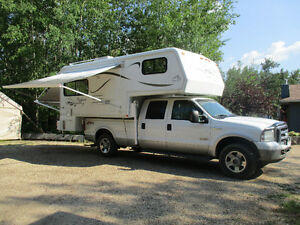 2003 Bigfoot camper/2005 Ford F350 package