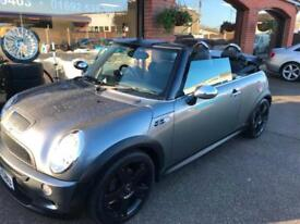 2006 '56' MINI COOPER S CONVERTIBLE CHILLI PACK