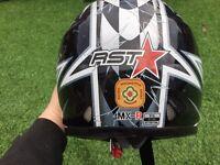 Motor bike helmets