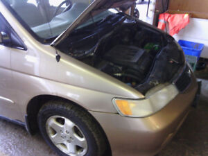2000 Honda Odyssey 3.5L Engine Assembly