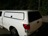 White Truck Canopy for 8' Box