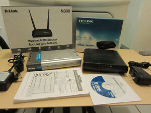 For sale Broadband Modems and Wireless Routers